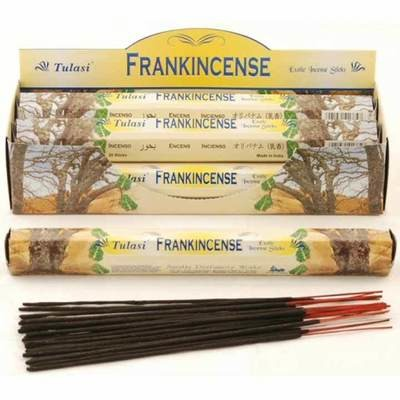 Tulasi Frankincense Incense Pack- 20 sticks