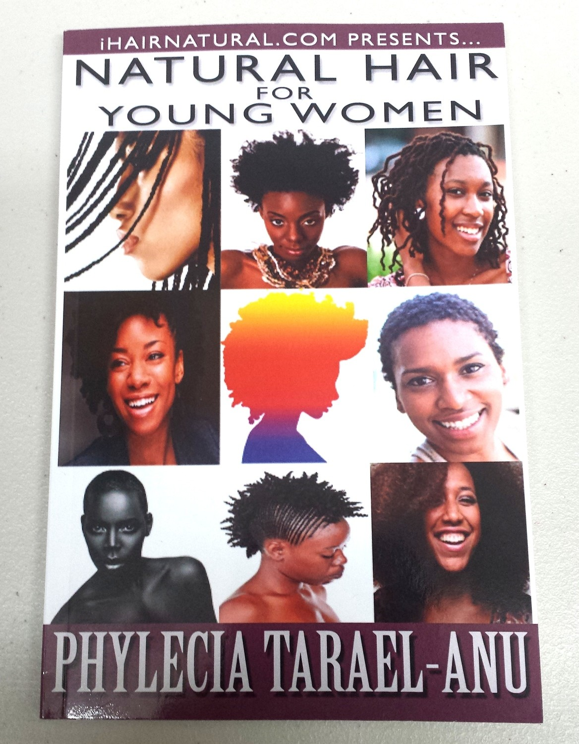 Natural Hair For Young Women Book