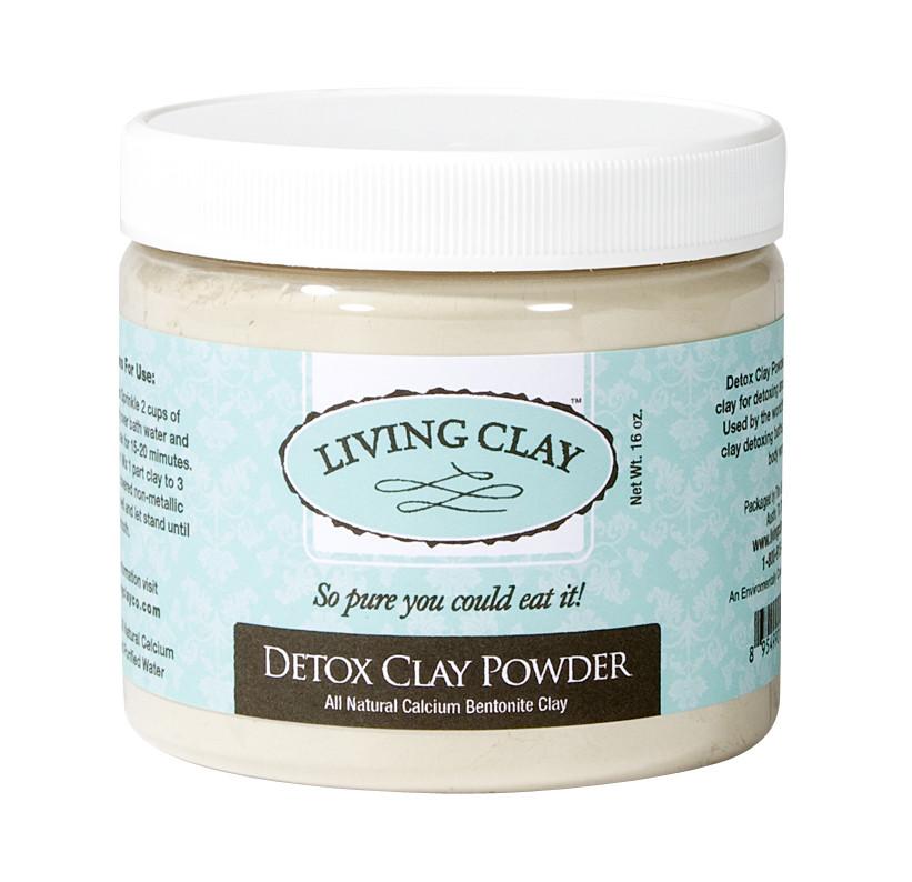 Living Clay Detox Clay Powder - 16oz