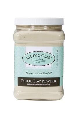 Living Clay Detox Clay Powder  64 oz