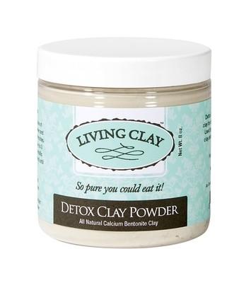 Living Clay Detox Clay Powder - 8oz
