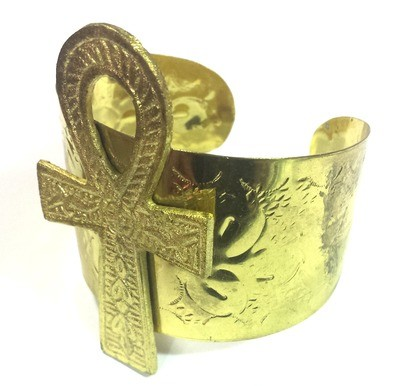 Ankh Bracelet (Gold)