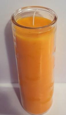 Orange 7 Day Candle