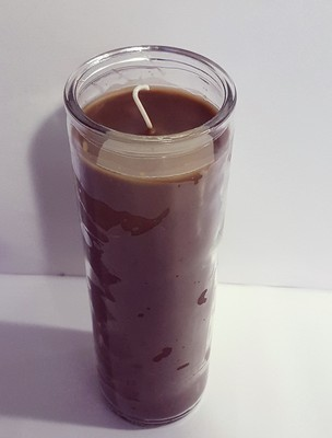 Solid Brown Candle