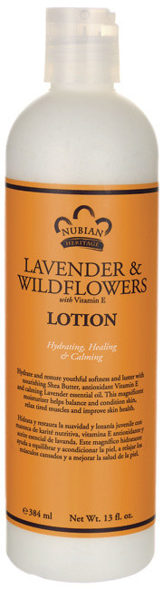 Nubian Heritage Lavender & Wildflowers Lotion (13 oz)