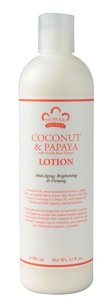 Nubian Heritage Coconut and Papaya Lotion (13 oz)