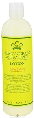 Nubian Heritage Lemongrass & Tea Tree Lotion (13 oz)