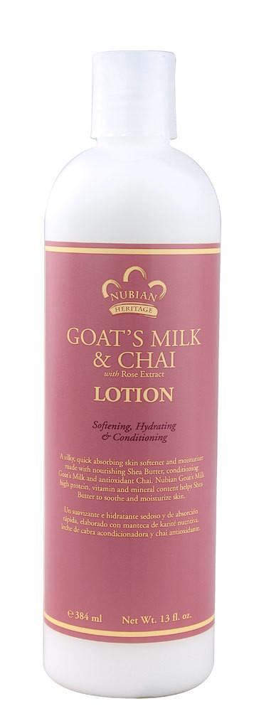 Nubian Heritage Goat's Milk & Chai Lotion (13 oz)