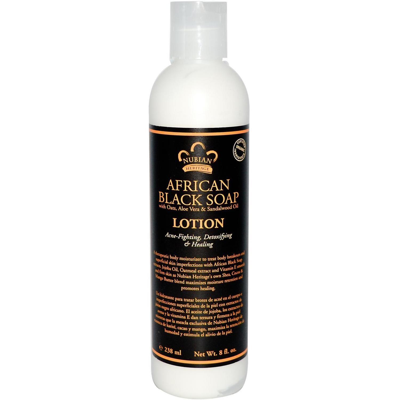 Nubian Heritage Black Soap Lotion (13 oz)