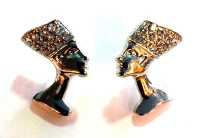 Nefertiti Stud Earrings