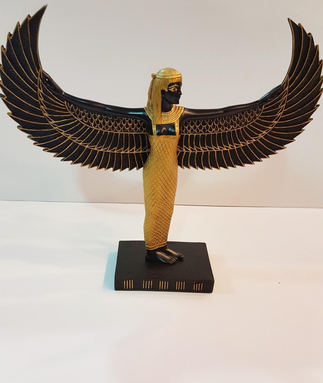 Kemetic (Egyptian) Goddess Aset (Isis) Standing Statue