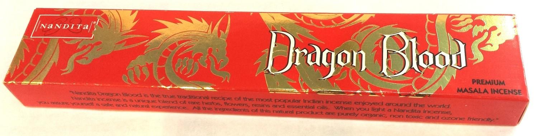 Nandita Dragon Blood Incense - 15 Sticks