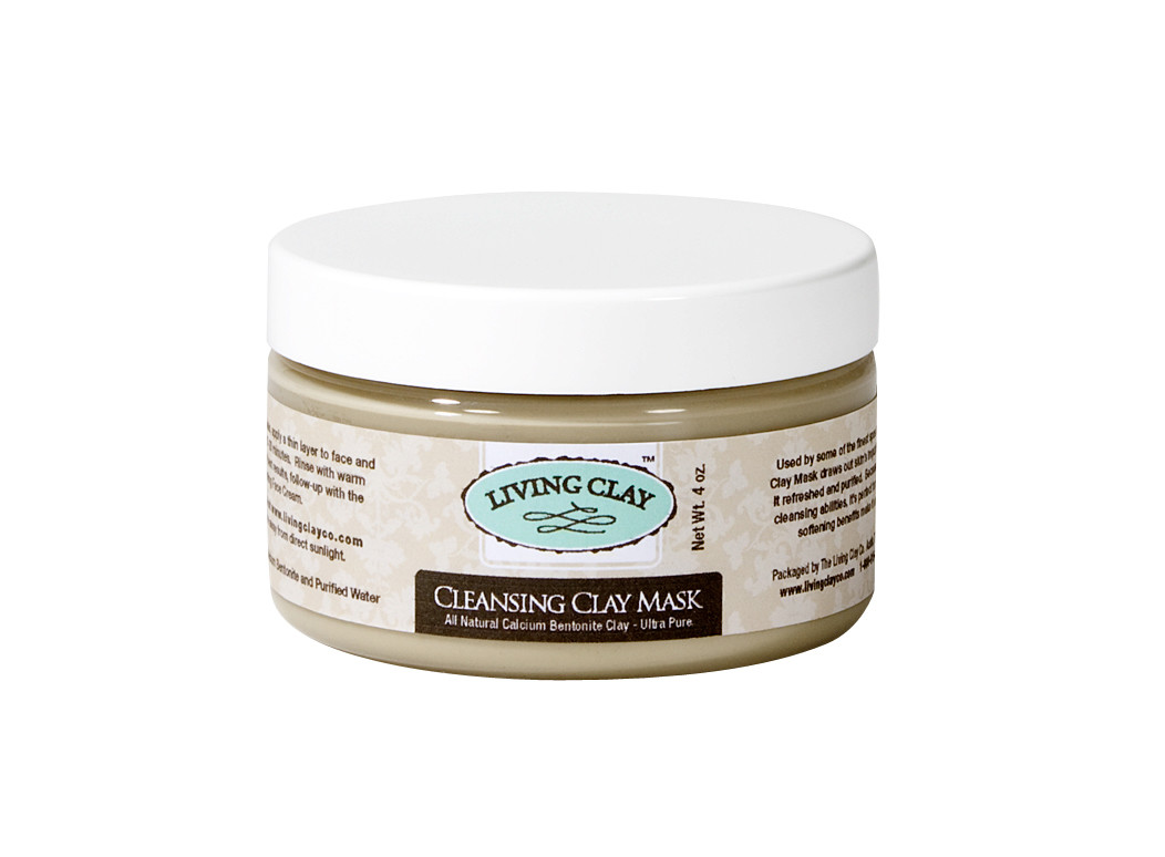 Living Clay Cleansing Clay Mask - 4oz