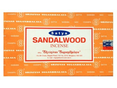 Sandalwood Satya Incense Box 15 Grams (180 Sticks)