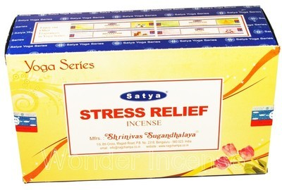 Stress Relief Satya Incense Box 15 Grams (180 Sticks)