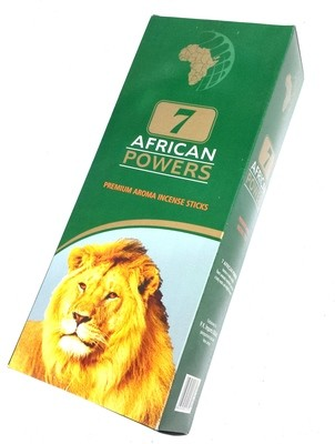 7 African Powers Incense Box