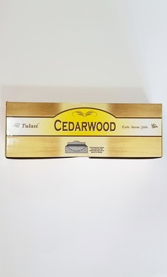 Tulasi Cedarwood Box - 6 packs