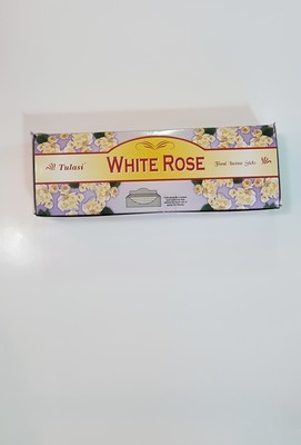 Tulasi White Rose Box - 6 packs