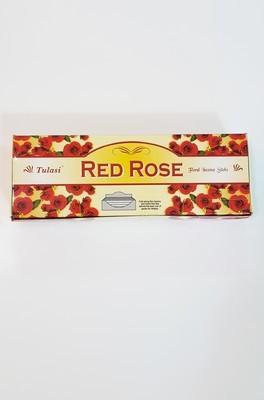 Tulasi Red Rose Box - 6 packs