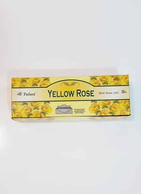 Tulasi Yellow Rose Box - 6 packs