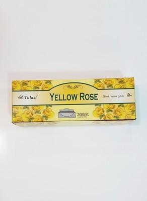 Tulasi Yellow Rose Box - 6 packs