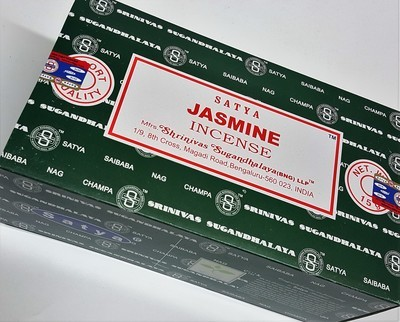Satya Jasmine Incense Box