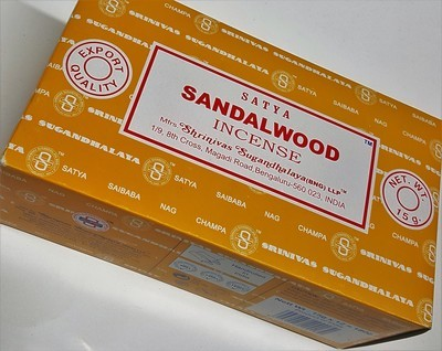 ​Satya Sandalwood Incense Box