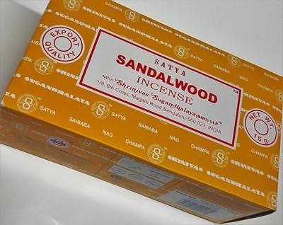 Satya Sandalwood Incense Box