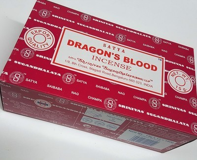 Satya Drangon's Blood Incense Box