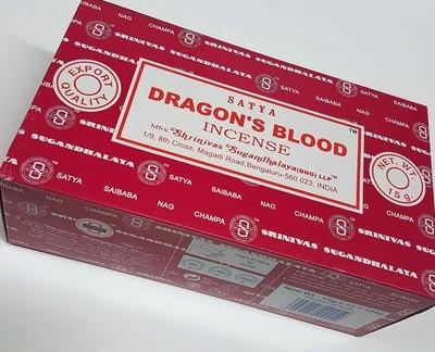 Satya Drangon's Blood Incense Box