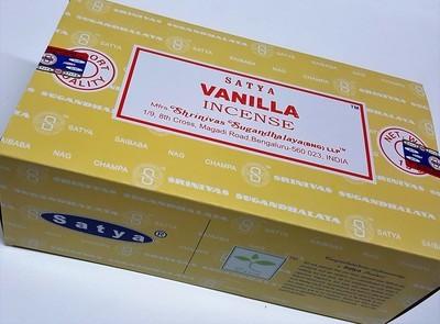 Satya Vanilla Incense Box