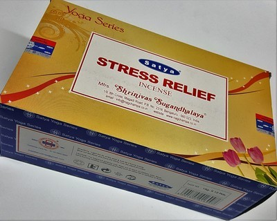 Satya Stress Relief Incense Box