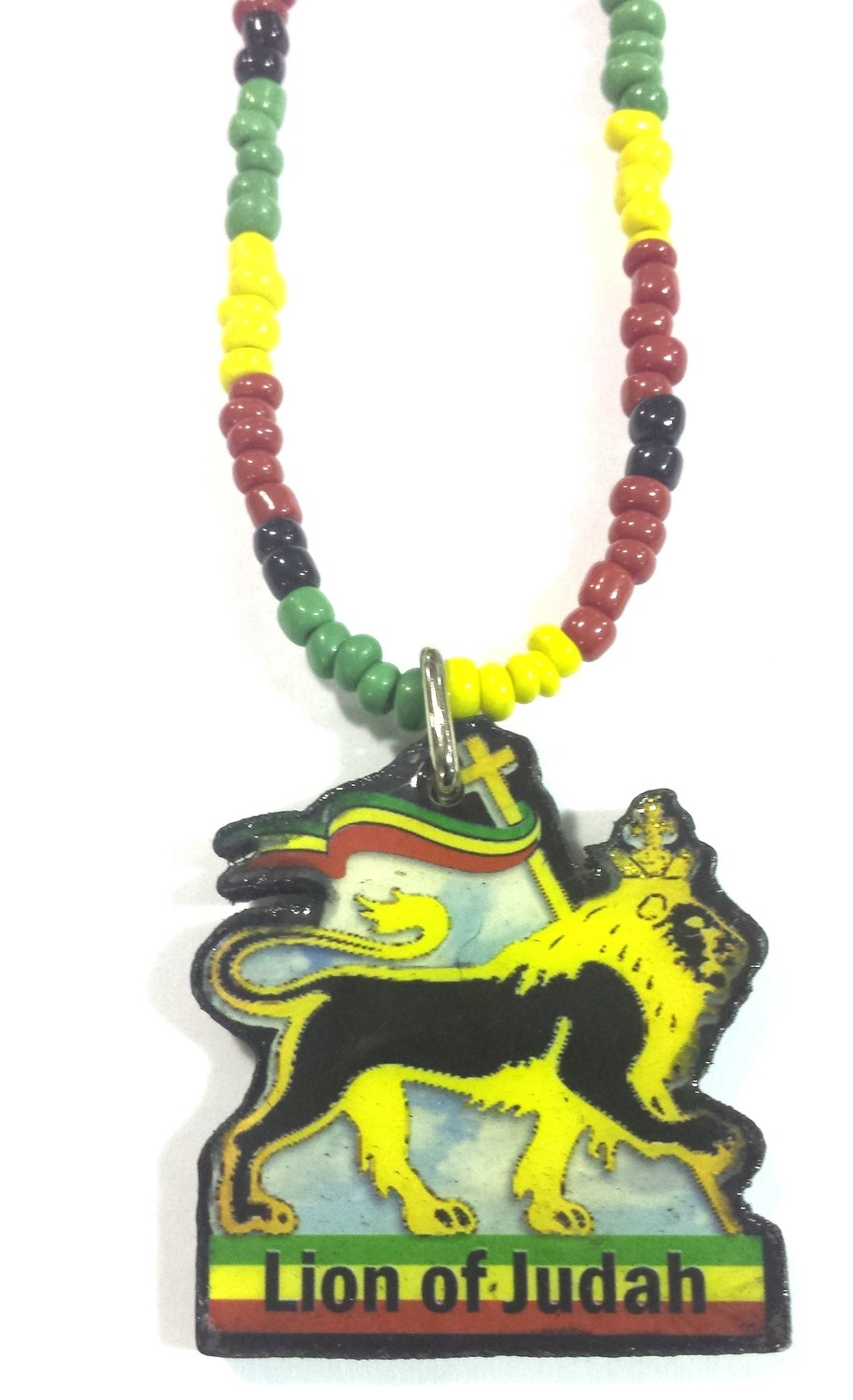 Lion Of Judah Beaded Necklace