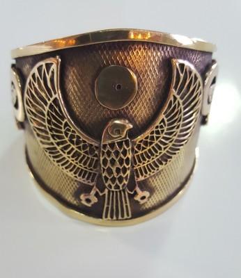 Heru bracelet with Ankh