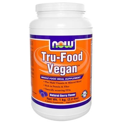 Tru-Food Vegan Natural Berry Flavor - 2.2 lbs.