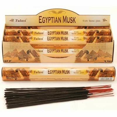 Tulasi Egyptian Musk Incense Pack- 20 sticks