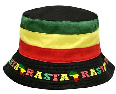 Rasta Bucket Hat