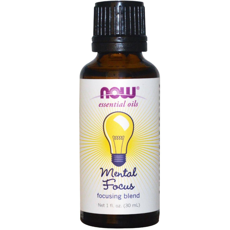 Mental Focus Oil Blend - 1 fl. oz.