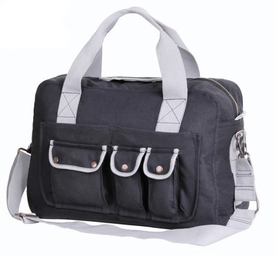 Two Tone Specialist Carry All Shoulder Bag (Black)