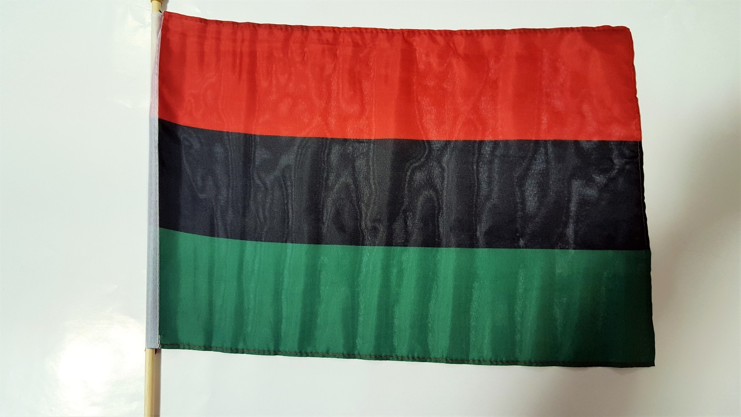 12 x 18 RBG Flag on a Stick