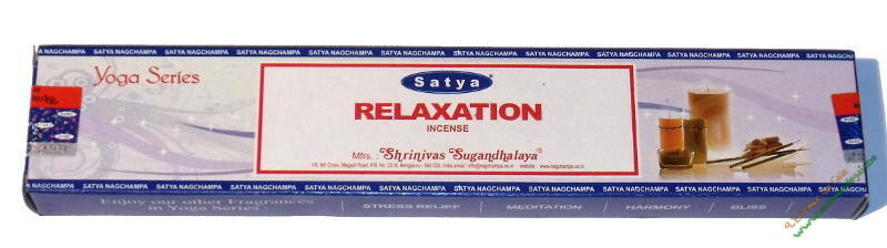 Realaxation Satya Incense Pack - 15 Sticks
