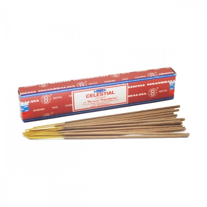 Celestial Satya Incense Pack - 15 Sticks