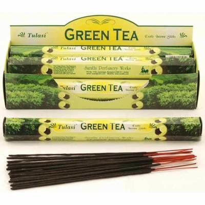Tulasi Green Tea Incense Pack- 20 sticks
