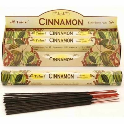 Tulasi Cinnamon Incense Pack- 20 sticks