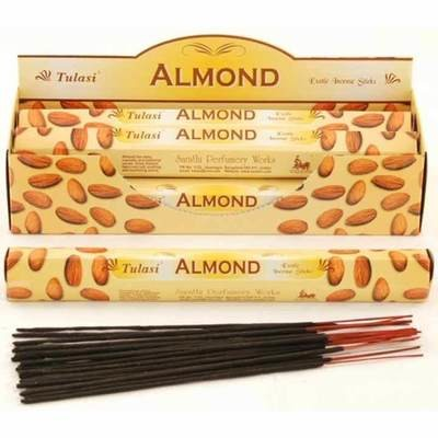 Tulasi Almond Incense Pack - 20 sticks