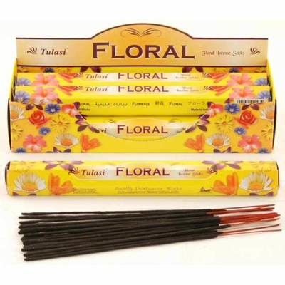 Tulasi Floral Incense Pack- 20 sticks
