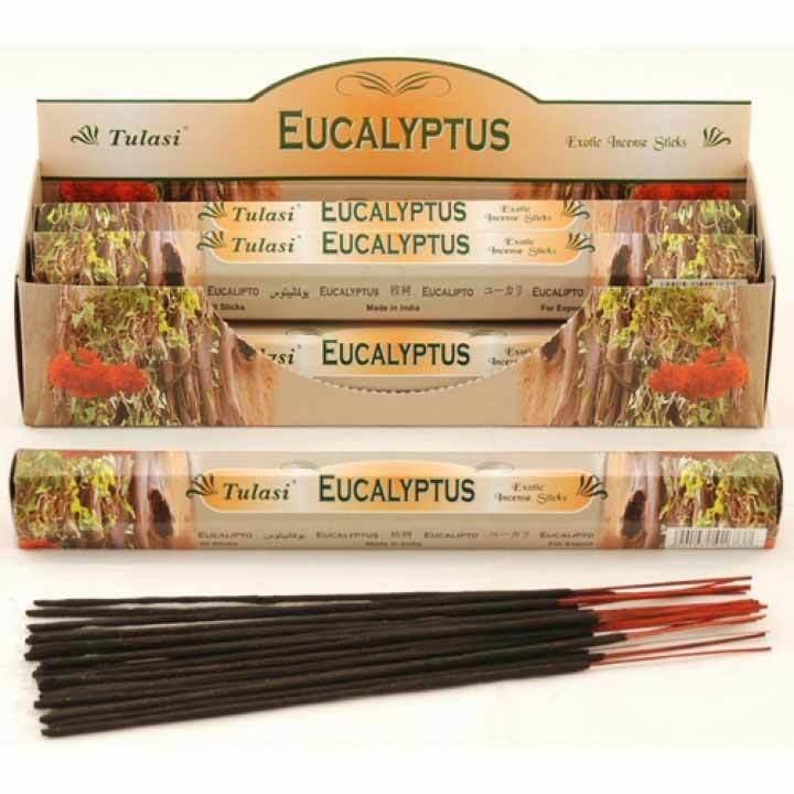 Tulasi Eucalyptus Incense Pack- 20 sticks