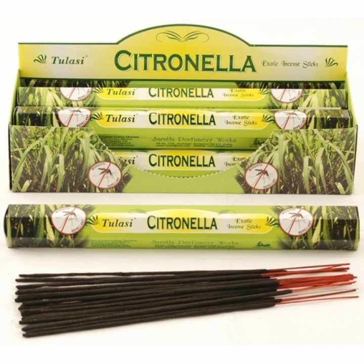 Tulasi Citronella Incense Pack- 20 sticks