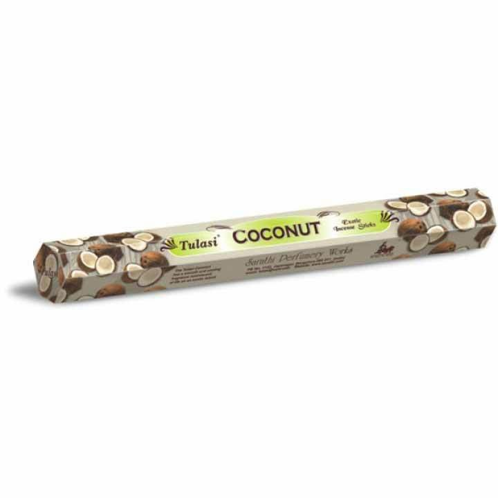 Tulasi Coconut Incense Pack - 20 sticks