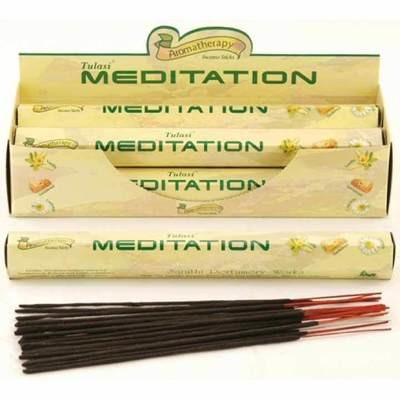 Tulasi Meditation Incense Pack - 20 sticks